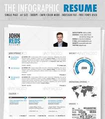 infographic resume template infographic resume vol 1 40 best