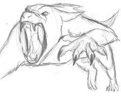 werewolf concept by flobbybobby on deviantart