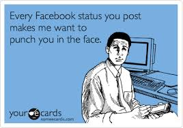 Facebook Post Meme - the most annoying things that people post on facebook including