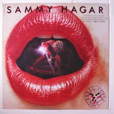 sammy hagar three lock box lp promo stamp on cover 2 small