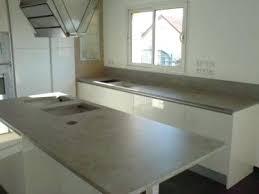 plan de travail en r駸ine pour cuisine resine plan de travail cuisine apaisseur dun plan de travail