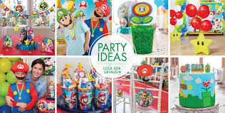 Cat In The Hat Table Centerpieces by Super Mario Party Supplies Super Mario Birthday Ideas Party City