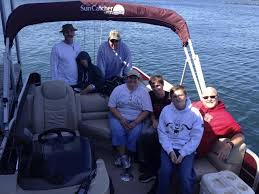 Table Rock Lake Fishing Guides by Large Group Pontoon Fishing Branson Fishing Guide Service