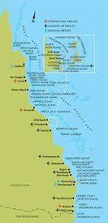 coast map cairns the queensland coast map cairns australia
