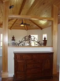 wood partition model home design r j labadie construction inc