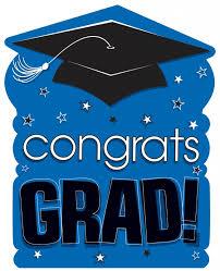 congrats grad blue cut out 2 order