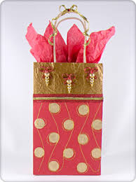 how to use tissue paper in a gift box gift decorating step by step to create the reused