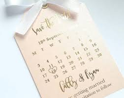 save the date calendar wedding save the dates etsy