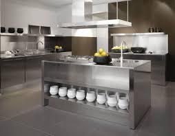 kitchen modern stainless steel kitchen backsplash create silver