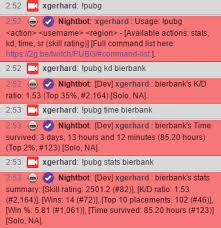 pubg dbno playerunknown s battlegrounds stats in your chat custom apis