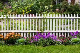 Fence Line Landscaping by 5 Ways To Landscape Along Your Fence The Fence Specialist