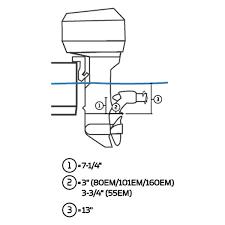 minn kota 1370610 engine mounted 12v 55 lbs thrust trolling motor