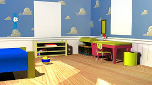 Toy Story Andys Bedroom Andy U0027s Wallpaper Toy Story Wallpapersafari