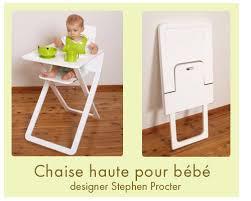 chaise pour bébé chaise haute bébé ultra plate actufraise