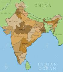 India State Map by India Map Outline Stock Photos U0026 Pictures Royalty Free India Map