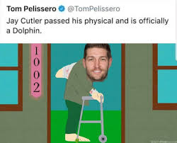 Jay Cutler Memes - jay cutler american football quarterback for the dolphins meme