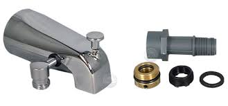Bathtub Faucet With Diverter For Shower Add A Shower And Hand Shower Diverter Tub Spout Kits