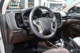 mitsubishi outlander sport 2015 interior mitsubishi outlander phev interior at the iaa 2015 indian autos blog