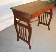 Kleiner Schreibtisch Eiche Biedermeier Schreibtisch Reiseschreibtisch Massiv Eiche Sonstiges