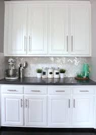 backsplash ideas for white kitchens backsplash white cabinets counters thepalmahome com