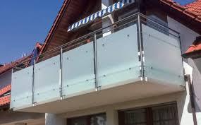 edelstahl balkon mit glas balkon und metallbau geißler die ganze welt der balkone