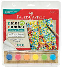 amazon com faber castell 14300 paint by museum series the