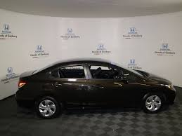 2013 used honda civic sedan 4dr automatic lx at honda of danbury