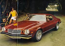 vintage camaro advertising oozes performance confidence