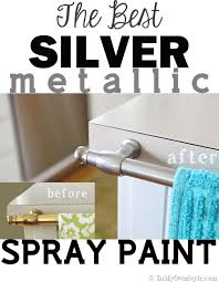 Spray Paint Bathroom Fixtures Spray Painting Metal Hardware Brass To Nickel In My Own Style