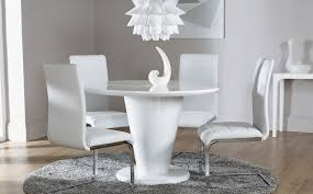 Round Dining Table Sets  Pc Edmonton Square Faux Marble Bar - Round white dining room table set