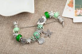 murano glass bangle bracelet images Newest design tortoise charms bracelets bangles green murano glass jpg