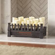 Electric Fireplace Insert Home Decorators Collection Brindle 20 In Candle Electric