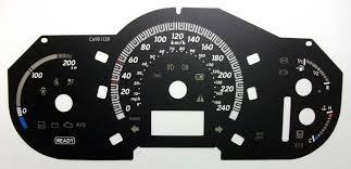 lexus rx 400h hybrid 2009 lexus rx400h kmh to mph speedo meter clocks dials