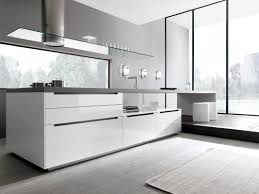 cuisine comprex contemporary kitchen wooden lacquered high gloss linea by