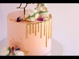 Loaded Pink Gold And Black Cake Drip Tutorial Rosie U0027s Dessert