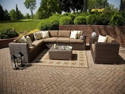 Target Wicker Patio Furniture by Decorating Exciting Dark Wicker Patio Furniture With Cozy Target