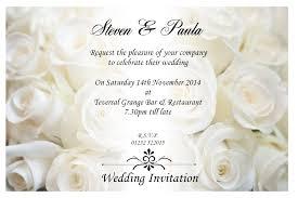 Invitational Cards Email Wedding Invitation Cards Infoinvitation Co