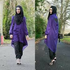different styles of hijab and headscarf with various