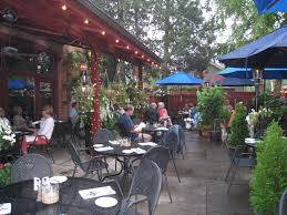 Restaurant Patio Dining Barcelona German Village Restaurant Outdoor Dining