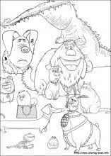 secret pets coloring pages coloring book
