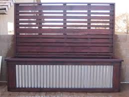 garden screen with planter boxes home outdoor decoration