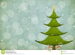 christmas tree with amanita mushrooms stock illustration image