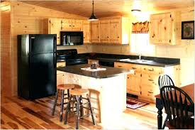 modern kitchen with unfinished pine cabinets durable pine knotty pine kitchen cabinets hicro club