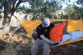 winter hammock camping staying warm on top your camping expert