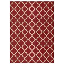red trellis outdoor rugs rugs the home depot