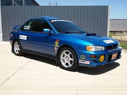 subaru coupe rs our 99 2 5rs rallycross car all ready for this weekend subaru