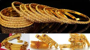 gold bangle bracelet sets images 6 gold bangles gold bangle set gold bangles design for daily jpg