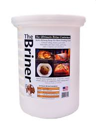 turkey brine container the briner by turkey tom