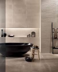 minimalist bathroom design with textured walls from fcp ceramics