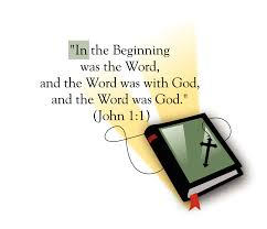 in the beginning was the word 1 1 bible thanksgiving bible